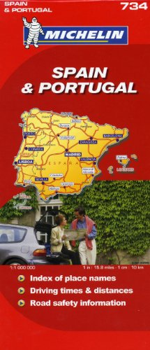 Michelin Map Spain & Portugal 734 (Maps/Country (Michelin)): Michelin