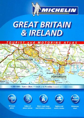 Great Britain/Ireland, Atlas Spiral (Michelin Great Britain & Ireland Tourist & ...