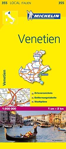 9782067126213: Michelin Lokalkarte Venetien 1 : 200 000