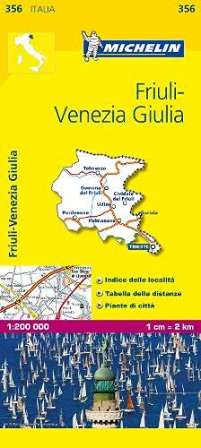 9782067126657: Mapa Local Friuli-Venezia Giulia (Mapas Local Michelin)
