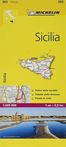 9782067126749: Mapa Local Italia Sicilia (Mapas Local Michelin)
