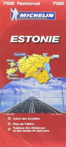 9782067127098: Estonie : 1/350 000
