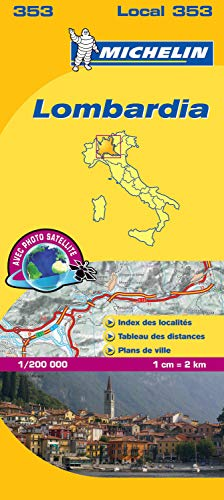 9782067127159: Carte LOCAL Lombardie