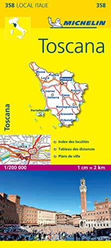 9782067127203: Toscana : 1/200 000