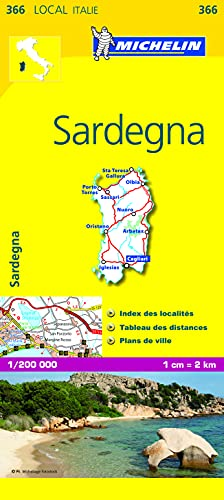 9782067127289: SARDEGNA 11366 CARTE ' LOCAL ' ( Italie ) MICHELIN KAART