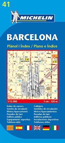 Barcelona. Plan Miasta. 1:12 000 Michelin