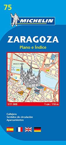 9782067127876: Map 9075 Zaragoza 2007 (Michelin City Plans)