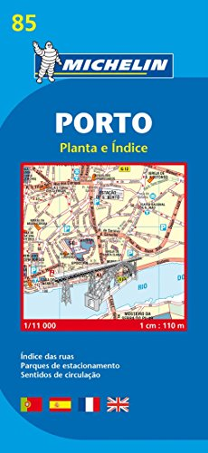 9782067127975: Porto - Michelin City Plan 85: City Plans (Michelin City Plans)