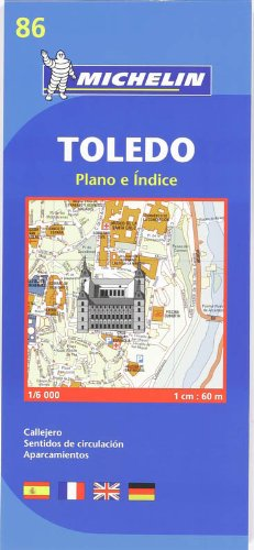 9782067127982: Toledo City Plan (Michelin City Plans)