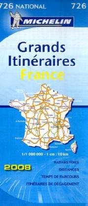 9782067130562: France Route Planning 2008 2008 (Michelin National Maps)