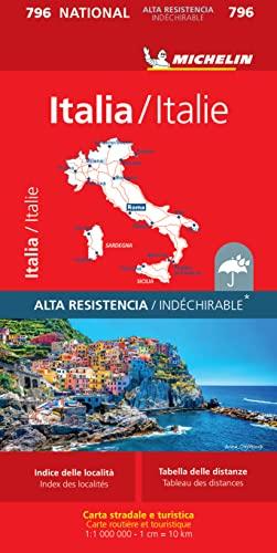9782067130951: Mapa National Italia Alta Resistencia: 1 (Mapas National Michelin)