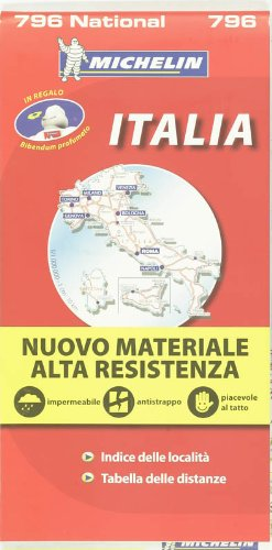9782067130951: Carte NATIONAL Italie Indchirable