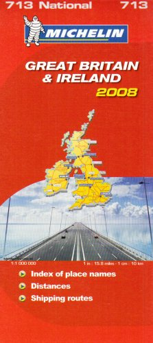 Great Britain and Ireland 2008 (Michelin National Maps): Michelin