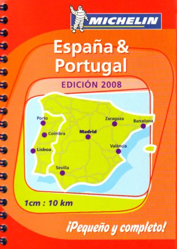 9782067132160: Mini Atlas Spain and Portugal 2008 (Michelin Tourist and Motoring Atlases)