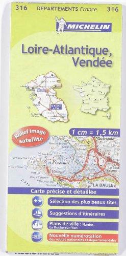 9782067132597: Carte DPARTEMENTS Loire-Atlantique, Vende