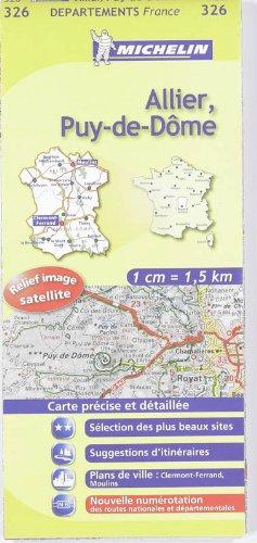 9782067132696: Carte DPARTEMENTS Allier, Puy-de-Dme