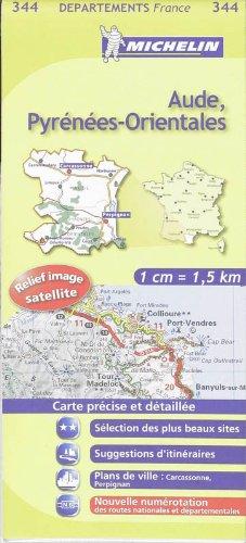9782067132986: Aude, Pyrénées-Orientales : 1/150 000 (KAARTEN/CARTES MICHELIN)