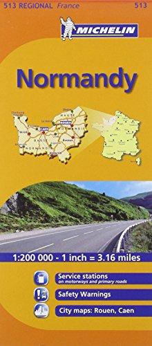 9782067135215: Mapa Regional Normandy (Carte regionali)