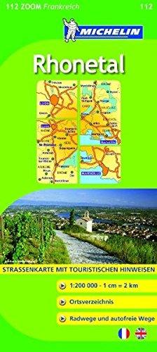9782067135581: Michelin Zoomkarte Rhone-Tal 1 : 200 000