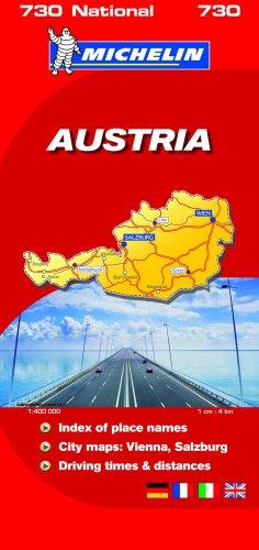 9782067136045: Austria 2008 2008 (Michelin National Maps)