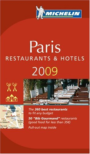Michelin Guide Paris [With Pull-Out Map] (Michelin