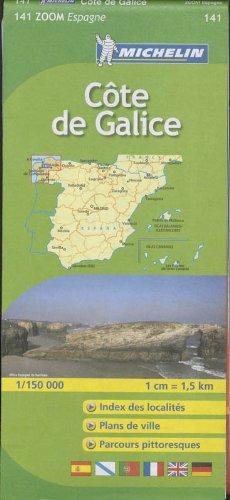 9782067140486: Carte ZOOM Cte de Galice