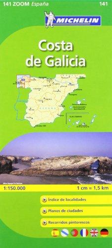 9782067140608: Costa De Galicia (Michelin Zoom Maps)