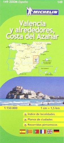 9782067140684: Valencia C. D. Azahar (Michelin Zoom Maps)