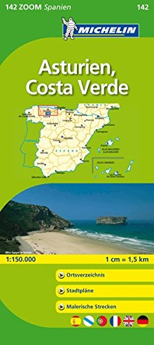 9782067140707: Michelin Localkarte Asturien, Costa Verde 1 : 150 000