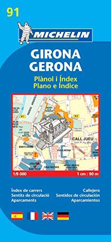 9782067140783: Plano Girona/Gerona (Planos Michelin)