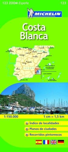 9782067141452: Costa Blanca (Michelin Zoom Maps)