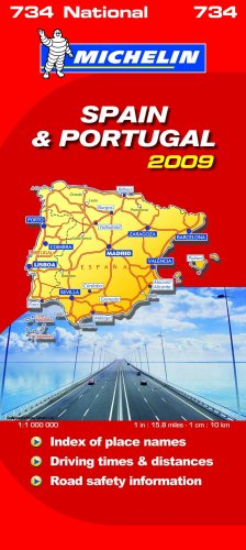 9782067142145: Spain and Portugal 2009 2009 (Michelin National Maps)