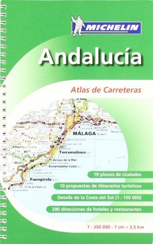 9782067142671: Atlas MICHELIN Andalucía
