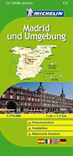 9782067145894: Madrid und Umgebung: Ortsverzeichnis, Stadtpläne, Malerische Strecken