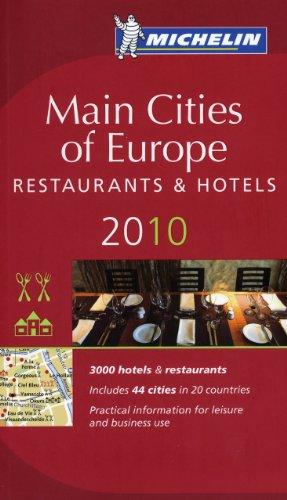 9782067146822: Michelin Guide Europe 2010: Hotels & Restaurants (Michelin Guide/Michelin)