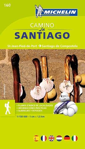 9782067148055: Michelin Guide to Camino Day Santiago