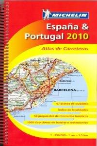 ESPAÑA PORTUGAL ATLAS 2010 - Aa.Vv.