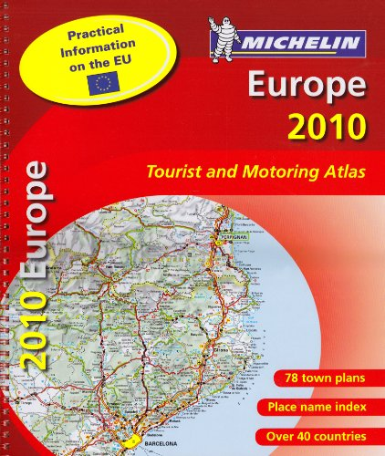9782067149793: MOT Atlas Europe 2010 (Michelin Tourist and Motoring Atlases)