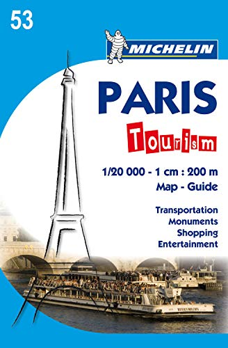 9782067150362: Paris Tourism Map (Michelin City Map) (French Edition)
