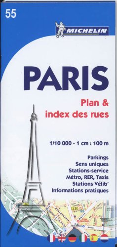 9782067150386: Plano Paris Plan Plus Pratique (Planos Michelin)
