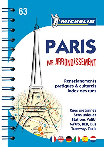 9782067150539: Plano Paris par Arrondissement: 1 (Planos Michelin)