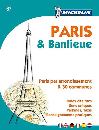 9782067150577: Michelin Paris & banlieue (Multilingual Edition)