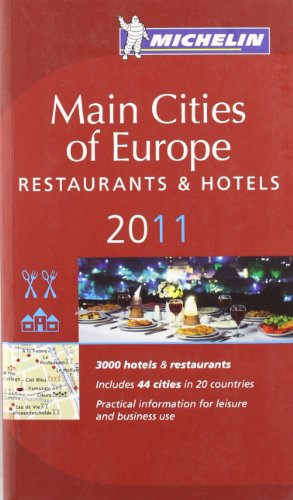 9782067153479: Michelin Red Guide Europe 2011: Hotels and Restaurants (Michelin Red Guide 2011 Main Cities Europe)