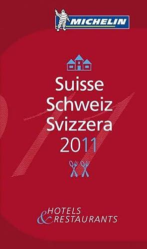 Suisse 2011: Hotels & Restaurants (roter Hotelführer Rest)