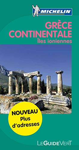 9782067154377: Guide Vert Gr�ce Continentale