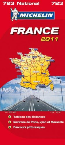 9782067156760: France (Atlas Format) National Map 2011 2011 (Michelin National Maps)