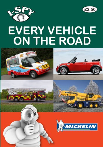 9782067159501: I-Spy Every Vehicle on the Road (Michelin i-Spy Guides)