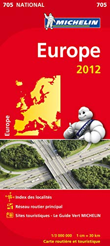 9782067170100: Carte NATIONAL Europe 2012