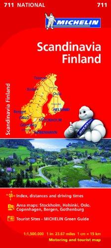 9782067170537: Mapa National Escandinavia Finlandia (Mapas National Michelin)