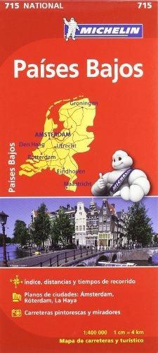 9782067170650: Mapa National Países Bajos (Mapas National Michelin)